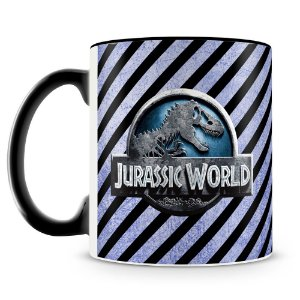 Caneca Personalizada Jurassic World (Mod.2)