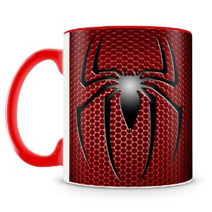 Caneca Personalizada Escudo Homem Aranha