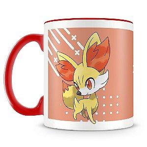 Caneca Personalizada Pokémon Fennekin (Mod.2)