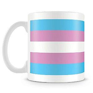 Caneca Personalizada Bandeira Trans