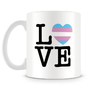 Caneca Personalizada Trans Love