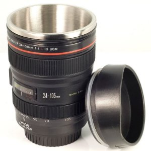 Copo Termico Lente Câmera Digital Canon 24-105mm (Tampa)