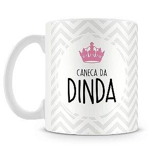 Caneca Personalizada Da Dinda