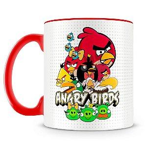 Caneca Personalizada Angry Birds (Mod.2)
