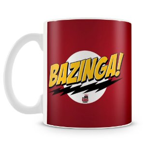 Caneca Personalizada The Big Bang Theory Bazinga