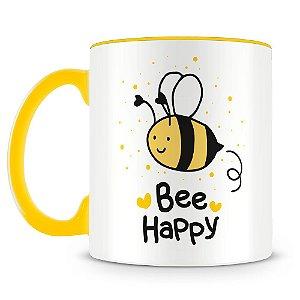 Caneca Personalizada Bee Happy