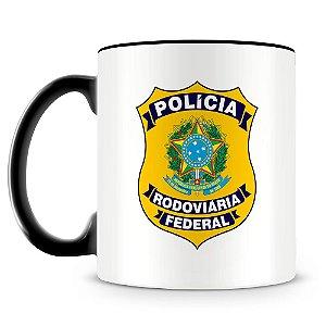 Caneca Personalizada Polícia Rodoviária Federal