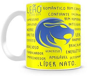 Caneca Personalizada Signo de Leão
