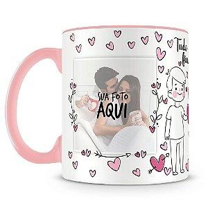 Caneca Personalizada Namorados Mod.2 (2 Fotos)