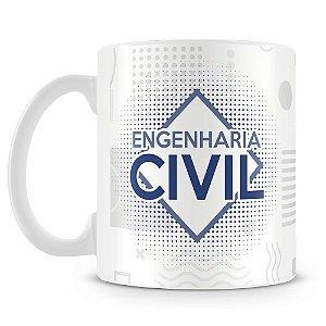 Caneca Personalizada Engenharia Civil (Com Nome)