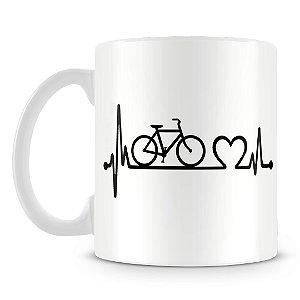 Caneca Personalizada Bike do Coração
