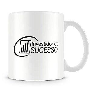 Caneca Personalizada Investidor de Sucesso Caça-Palavras