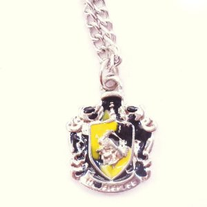 Colar Harry Potter Casa Lufa Lufa