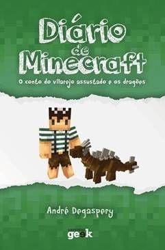 Diário de Minecraft vol 2. – O conto do vilarejo assustado e os dragões