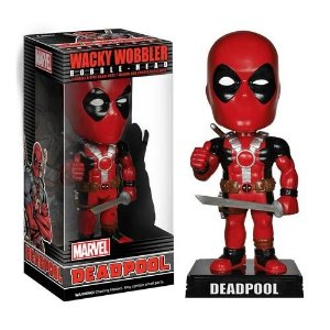 Boneco Bobble Head Deadpool