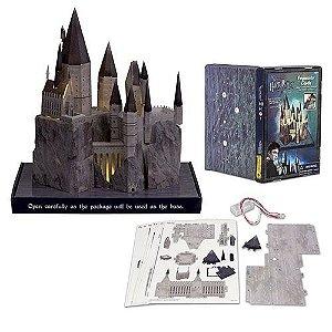 Maquete 3D Castelo de Hogwards com iluminação LED