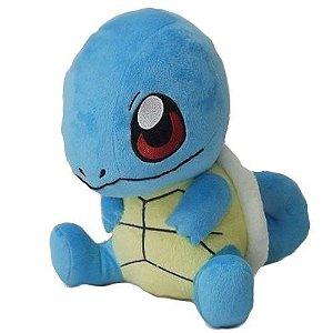 Pelúcia Pokémon Squirtle 28cm