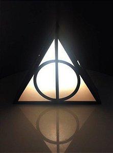 Luminária de mesa Relíquias da Morte