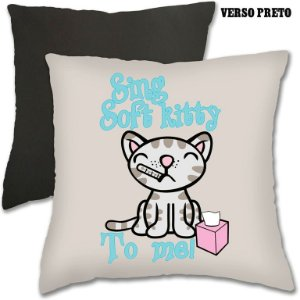 Almofada Soft Kitty