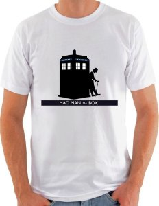 Camiseta Unisex Doctor Who Tardis