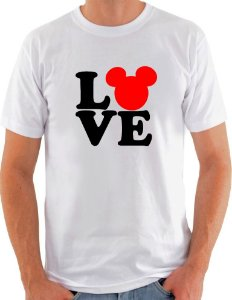 Camiseta Unisex I Love Mickey Mouse