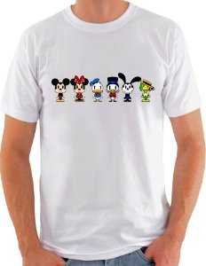 Camiseta Unisex turma do Mickey