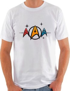 Camiseta Unisex Star Trek colors