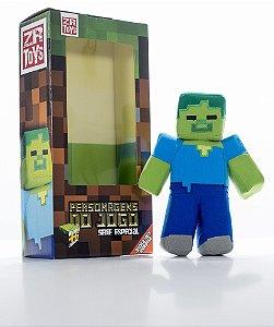Boneco Minecraft Zombie