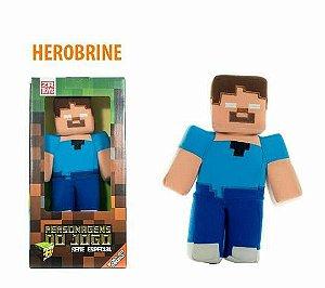 Boneco Minecraft Herobrine