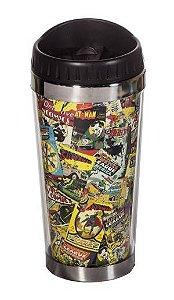 Copo Térmico Quadrinhos DC Comics