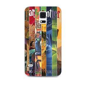 Capa Celular Livros Harry Potter- Samsung S5