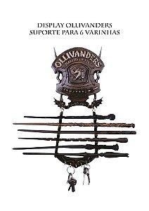 Suporte para 6 varinhas Brasão Olivaras