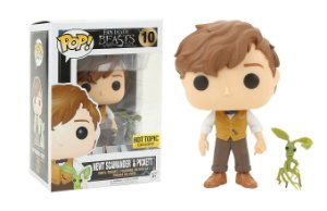 Funko Pop 10 Newt Scamander com Pickett