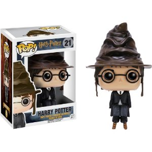 Funko Pop 21 Harry Potter com Chapéu Seletor