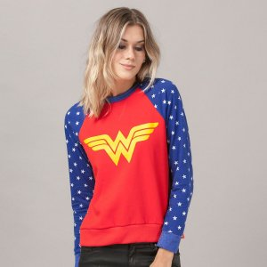 Exclusiva Blusa de Moletom Mulher Maravilha (Oficial DC Comics)