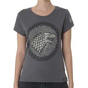 Camiseta Feminina Game of Thrones Stark