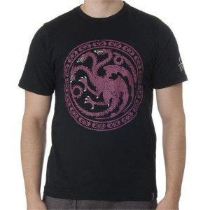 Camiseta Game Of Thrones Targaryen