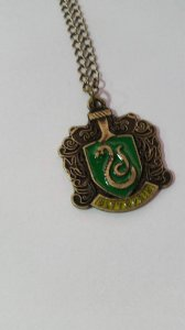 Colar Harry Potter Sonserina Bronze
