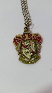 Colar Harry Potter Grifinoria Bronze