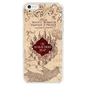 Capa Celular Mapa do Maroto Harry Potter- Iphone 5/5S