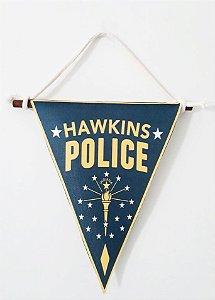 Flâmula Stranger Thing Policia de Hawkins