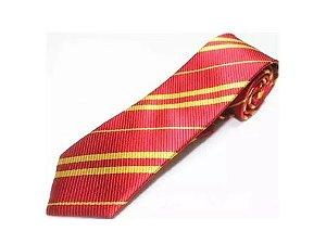 Gravata Harry Potter Grifinória (sem brasão)