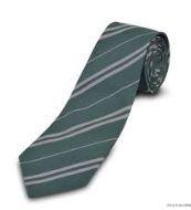 Gravata Verde listrada