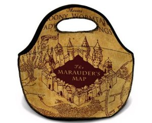 Lancheira - Bolsa térmica Harry Potter Mapa do maroto