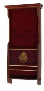 Expositor Oficial Hogwarts Noble Collection para 4 varinhas