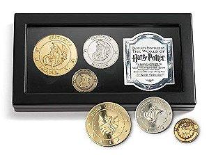 Coleção de Moedas Banco Gringotts Harry Potter