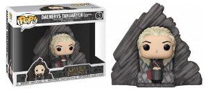 Funko Pop Daenerys Targaryen na Pedra do Dragão 63