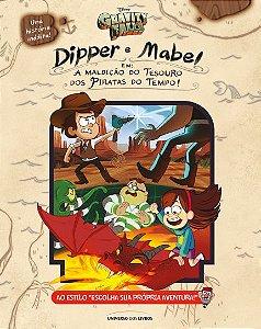 Livro - Gravity Falls: A Maldição do Tesouro dos Piratas do Tempo