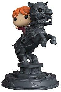 Funko Rony Weasley no Cavalo de Xadrez Bruxo - Harry Potter