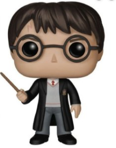 Funko Pop Harry Potter com Varinha 01 - Harry Potter